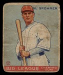 1933 Goudey #161  Al Spohrer  Front Thumbnail
