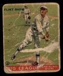 1933 Goudey #136   Flint Rhem Front Thumbnail