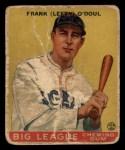 1933 Goudey #58   Lefty ODoul Front Thumbnail