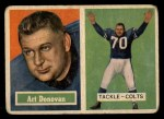 1957 Topps #65  Art Donovan  Front Thumbnail
