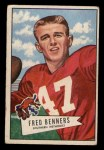 1952 Bowman Small #93  Fred Benners  Front Thumbnail