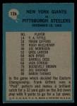 1965 Philadelphia #126   Allie Sherman Back Thumbnail