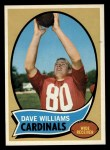 1970 Topps #208   Dave Williams Front Thumbnail