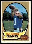 1970 Topps #80   Fran Tarkenton Front Thumbnail
