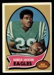 1970 Topps #72  Harold Jackson  Front Thumbnail