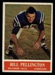 1964 Philadelphia #9  Bill Pellington   Front Thumbnail