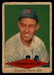 1954 Red Heart #17   Sherman Lollar   Front Thumbnail