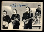 1964 Topps Beatles Black and White #73   John Lennon Front Thumbnail