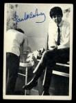 1964 Topps Beatles Black and White #100  Paul Mccartney  Front Thumbnail
