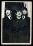 1964 Topps Beatles Black and White #158   Ringo Starr Front Thumbnail