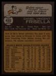 1973 Topps #432   Dan Frisella Back Thumbnail