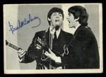 1964 Topps Beatles Black and White #69  Paul Mccartney  Front Thumbnail