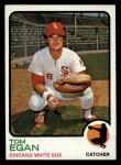 1973 Topps #648   Tom Egan Front Thumbnail