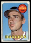 1969 Topps #47 A  Paul Popovich Front Thumbnail