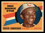 1960 Topps #119  Rookies  -  Leo 'Chico' Cardenas Front Thumbnail