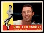 1960 Topps #477   Don Ferrarese Front Thumbnail