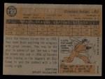 1960 Topps #122  Rookies  -  Don Dillard Back Thumbnail