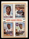 1974 Topps #5  Hank Aaron Special 66-69  -  Hank Aaron Front Thumbnail