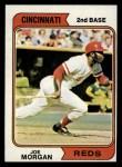 1974 Topps #85  Joe Morgan  Front Thumbnail