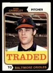 1974 Topps Traded #59 T  Ross Grimsley Front Thumbnail
