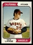 1974 Topps #429  Dick Lange  Front Thumbnail