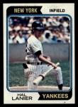 1974 Topps #588   Hal Lanier Front Thumbnail