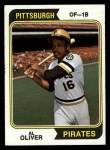 1974 Topps #52   Al Oliver Front Thumbnail