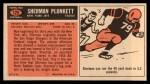 1965 Topps #125  Sherman Plunkett  Back Thumbnail