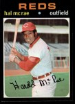 1971 Topps #177  Hal McRae  Front Thumbnail