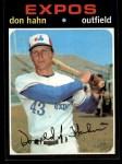 1971 Topps #94   Don Hahn Front Thumbnail