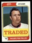1974 Topps Traded #534 T  Eddie Watt Front Thumbnail