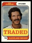 1974 Topps Traded #269 T  Bob Johnson Front Thumbnail