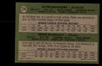 1971 Topps #376  Expos Rookies  -  Clyde Mashore / Ernie McNally Back Thumbnail