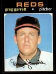 1971 Topps #377   Greg Garrett Front Thumbnail