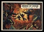 1962 Topps Civil War News #29   Bridge of Doom Front Thumbnail