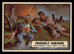 1962 Topps Civil War News #52  Friendly Enemies  Front Thumbnail