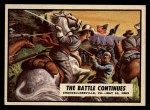 1962 Topps Civil War News #42   The Battle Continues Front Thumbnail