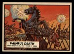 1962 Topps Civil War News #21   Painful Death Front Thumbnail