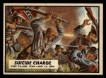 1962 Topps Civil War News #60  Suicide Charge  Front Thumbnail