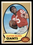 1970 Topps #157   Clifton McNeil Front Thumbnail