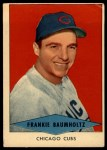 1954 Red Heart #2  Frank Baumholtz    Front Thumbnail