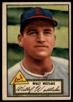 1952 Topps #38 RED Wally Westlake  Front Thumbnail