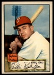 1952 Topps #47 RED  Willie Jones Front Thumbnail