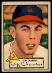 1952 Topps #68 RED  Cliff Chambers Front Thumbnail