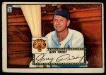 1952 Topps #28 RED Jerry Priddy  Front Thumbnail