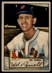 1952 Topps #30 RED Mel Parnell  Front Thumbnail