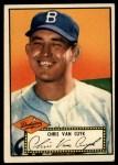 1952 Topps #53 RED  Chris Van Cuyk Front Thumbnail