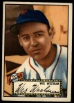 1952 Topps #75 BLK  Wes Westrum Front Thumbnail