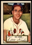 1952 Topps #78 RED  Ellis Kinder Front Thumbnail