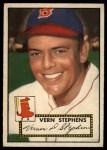 1952 Topps #84   Vern Stephens Front Thumbnail